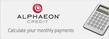 Alpheon Credit Payment Calculator